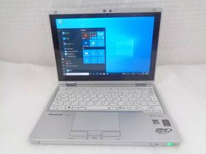 1円~ Panasonic Let's note CF-RZ4/Core M-5Y71 1.2GHz/4GB/SSD 128GB/無線/Webカメラ/1920x1200/タッチパネル/windows10 中古動作品(954)