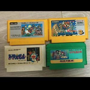 スーパーマリオ 1と3 ドラえもん ゲゲゲの鬼太郎 ファミコンソフト