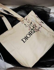 綺麗★新品★ディオール 母の日限定 刺繍エコバッグ トートバッグ 書類バッグ ノベルティ ギフト プレゼント