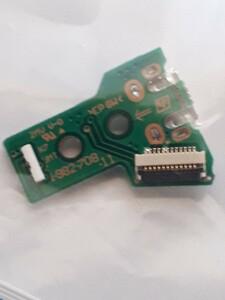 PS4 Dualshock4コントローラ 修理用USB端子 ケーブル付き