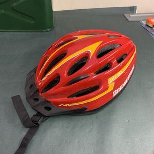 自転車用ヘルメット BRIDGESTONE airio Lサイズ 56-60センチ ブリヂストン 自転車ロードバイク サイクルヘルメット 中古