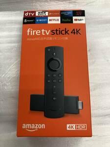 新品 未開封 Amazon Fire TV Stick 4K - Alexa 対応音声認識リモコン付属ストリーミング/アマゾン/ファイヤースティック