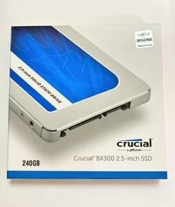 新品同様 送料込 Crucial BX300 240GB 3D MLC チップ SATA 2.5inch S-ATA 高耐久 SSD