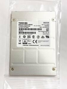 送料込 Toshiba HK3 R2 960GB サーバー向け 高耐久 SSD MLCチップ SATA 2.5inch データセンター 停電保護 ②