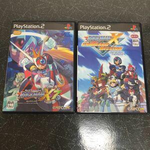 ロックマンX7とロックマンXコマンドミッション セット PS2 【2323】