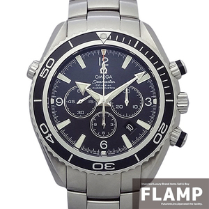 【OMEGA オメガ】シーマスター プラネットオーシャン クロノグラフ 2210.50.00 メンズ 腕時計【中古】