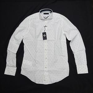 【LARDINI ラルディーニ】 長袖シャツ サイズ39 タグ付き メンズ ファッション 【未使用品】