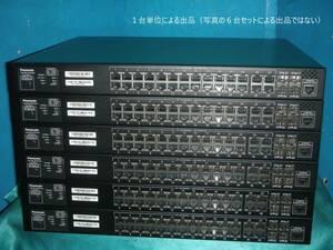 ☆全ポートギガビット対応 PoE Plus給電スイッチ!L2 GbE PoE Switch/Panasonic GA-ML24TPoE+ [PN262493]!(#F1-705)「120サイズ」☆