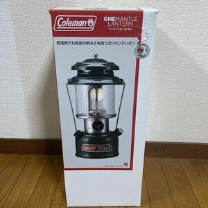 完売★新品未開封 コールマン coleman ワンマントルランタン286A740J ONE MANTLE Lantern キャンプ
