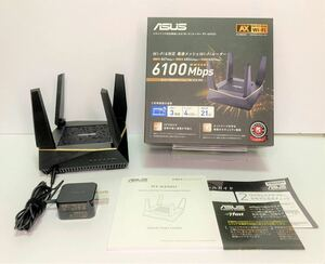 ASUS RT-AX92U WiFi 無線 ルーター メッシュ機能付 無線LANルーター