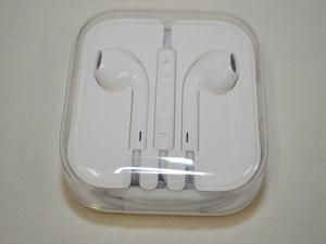 新品未使用 Apple iPhone 純正イヤホン 3.5mmジャック端子 EarPods 有線イヤフォン クリックポスト送料198円 21599