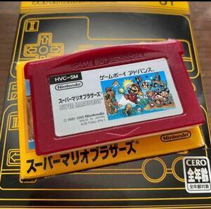 スーパーマリオブラザーズ GBA マリオ ファミコンソフト ゲームボーイアドバンスソフト