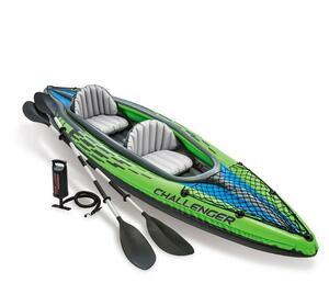 ◆豪華セット◆高品質◆頑丈シングル ダブル ゴムボート カヤック インフレータブル ボート 厚手 釣りボート 未使用-40000