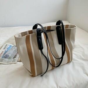 大容量バッグ女おしゃれズックバッグショルダーバッグ通勤手提トートバッグ