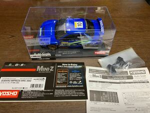 KYOSHO 京商 MR-03用 ボディー SUBARU IMPREZA WRC2002 スバル インプレッサ ミニッツ