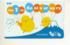 静岡エリア導入1周年記念TOICAデポジットのみ