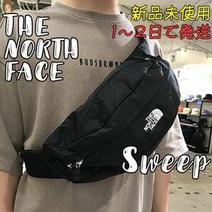 新品 ノースフェイス スウィープ SWEEP ブラック