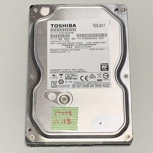 【使用24048時間/注意判定】Toshiba 3.5インチ 1TB HDD DT01ACA100 / 動作保証条件有
