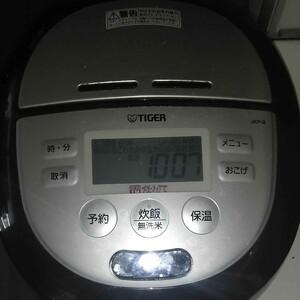 TIGER 圧力IH 炊飯器 1升
