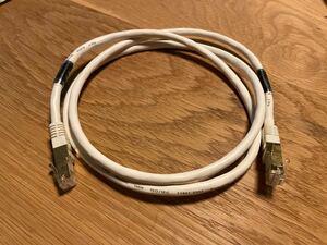 サンワサプライ CAT7 LANケーブル (1m) KB-T7-01W