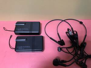 Audio Technica ATW-SP707 ATW-SP808a (p) ATW-SP717M ATW-1035 など用ワイヤレストランスミッターATW-T107 マイクロホン PRO8HE 2セット