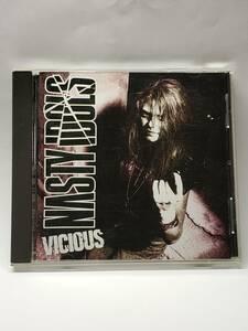 NASTY IDOLS/VICIOUS/ナスティ・アイドルズ/ヴィシャス/国内盤CD/1993年発表/3rdアルバム/廃盤