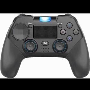 PS4 コントローラー 無線 Bluetooth接続 スゲームパッド高耐久ボタン