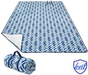 レジャーシート キャンプマット ビーチ キャンプ アウトドア 折りたたみ コンパクト ピクニック テント 4~6人用 洗濯機洗い可能 ブルー