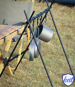 ランタン ランタンスタンド ハンギングラック アルミ製 アウトドア キャンプ 軽量