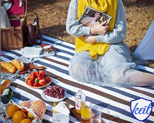 レジャーシート ピクニックマット 防水 通気性 コンパクト 軽量 キャンプ アウトドア お花見 6人用 ktam31