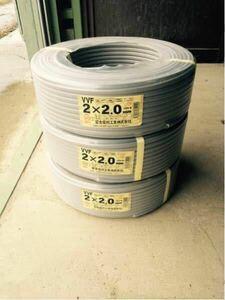 富士電線工業 VVFケーブル VVF2.0mm×2芯 300m 新品 B9