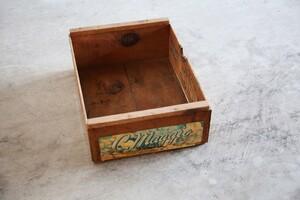 アンティークSALE30%OFF 木箱 ウッドボックス フルーツボックス 収納 アメリカ ヴィンテージ