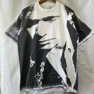 【希少】'92 John Mellencamp 手刷り Tシャツ USA製 ビンテージ バンド 90s / バンT アート ムービー mosquitohead nirvana beatles 80s