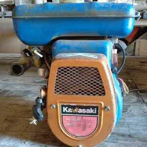 kawasakiカワサキ管理機AR-551ガソリンエンジン!