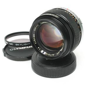 #SY4585■オリンパスMF/OLYMPUS OM-SYSTEM ZUIKO MC AUTO-S 50mm f/1.4■