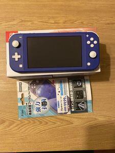 Nintendo Switch Lite ブルー 任天堂 スイッチライト フィルター・SDカード付き