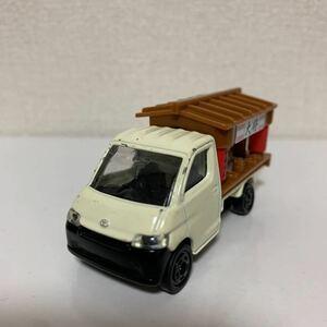 ☆テコロジートミカ トヨタ タウンエーストラック ラーメン屋台 動作点灯確認済み ベトナム製 絶版 外箱なし 中古