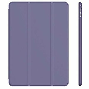 パープル JEDirect iPad Pro 9.7 ケース レザー 三つ折スタンド オートスリープ機能 スマートカバー (パー