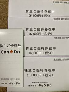【最新】キャンドゥ 株主優待 28000円+税分 株主ご優待券