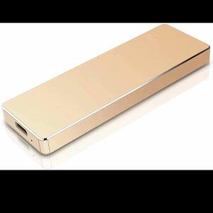 超薄型 外付けHDD ハードディスク ポータブルUSB3.1/TypeC 1TB