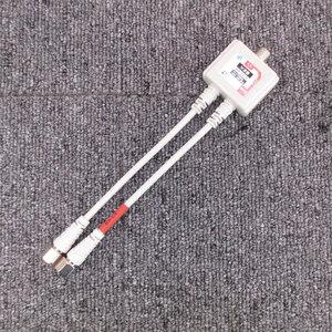 б/у рабочий товар цифровое радиовещание BS CS соответствует 2 разветвитель * SOLID CABLE SEP-25F15 F type кабель есть 15cm #SPF