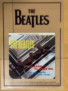 ザ・ビートルズ・クラブ オリジナル ミニクリアファイル『プリーズ・プリーズ・ミー』 PLEASE PLEASE ME