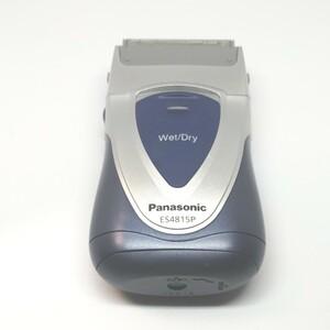 「Panasonic 中古メンズ電気シェーバーES4815P(電池式) & 外刃ES9857・内刃 ES9852 新品セット 」