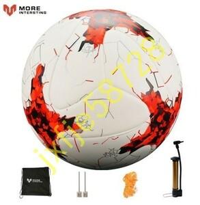 Ni007:ロシアプロサイズ 4-5サイズ サッカー プレミア Pu シームレス サッカーボール ゴールチーム マッチトレーニング
