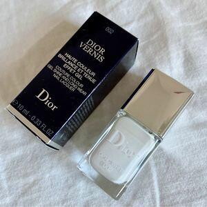 Dior美品ディオール ヴェルニ 002 OPTIC WHITE ネイル