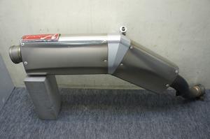 VFR1200F/DCT ヤマモトレーシング パニアケース対応 チタンスリップオンマフラー