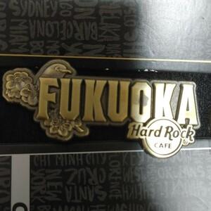 ハードロックカフェ(Hard Rock Cafe)福岡ディスティネーションピン