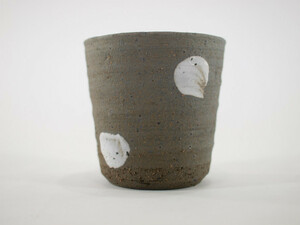 信楽焼 植木鉢 飛白釉切立 2.5号鉢 ミニ 小 2号 豆盆栽 ミニ盆栽 小さい 陶器 植え替え鉢盆栽鉢