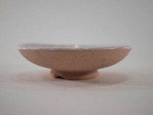 信楽焼 植木鉢 ピンク浅丸 4号鉢 盆栽鉢 ミニ盆栽 陶器 植え替え 鉢 おしゃれ かわいい 園芸職人12cm