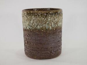 信楽焼 植木鉢 茶窯変切立 4号鉢 盆栽鉢 ミニ盆栽 陶器 植え替え 鉢 おしゃれ かわいい 園芸職人12cm